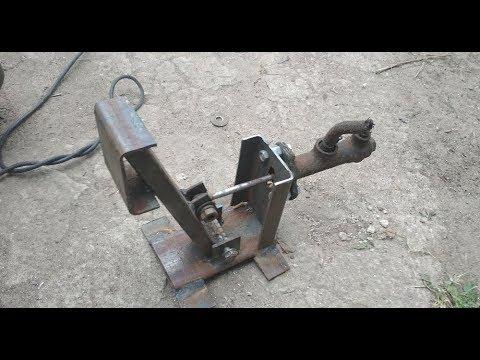 Форд с двигателем ВАЗ 1,6 3 серия  Напольная педаль сцепления, своими руками