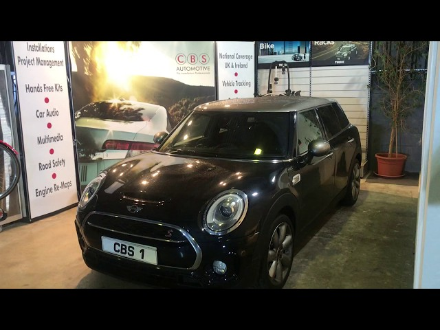 Mini Clubman | Integrated reverse camera and Thinkware dash cam | CBS Automotive
