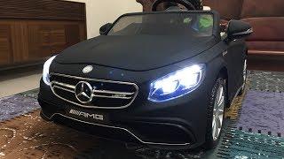 Mercedes Benz S63 AMG Akülü Araba Kurulumu