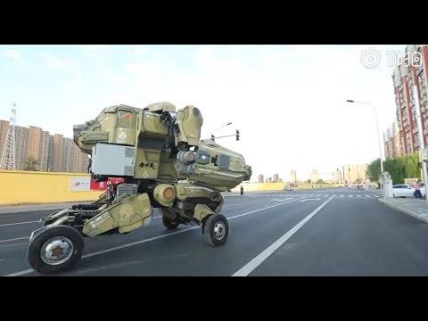 Robot Transformers se pasea por China