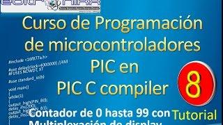 Video curso programación de microcontroladores PIC en CCS(multiplexacion de display) download MP3, 3GP, MP4, WEBM, AVI, FLV Juli 2018