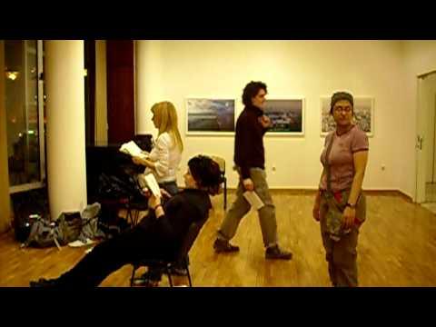 Samo proba u Art Getu , za Svetski Dan Poezije 2008.
