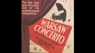 Warsaw Concerto performed by John Paul Ekins and the film Dangerous Moonlight (1941)