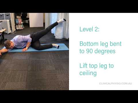 Gluteus medius exercises for your hip