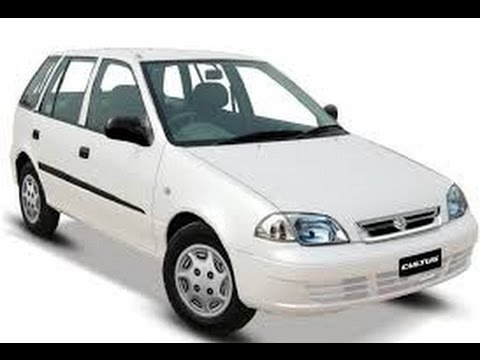 Suzuki Cultus 1st Generation facelift 2012 review in Urdu - YouTube