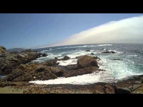 waves in slow motion (Big Sur, California)