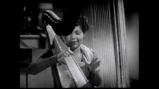 "LaVilla Tulos (jazz harpist) - ""Swanee River"" (1940s)"