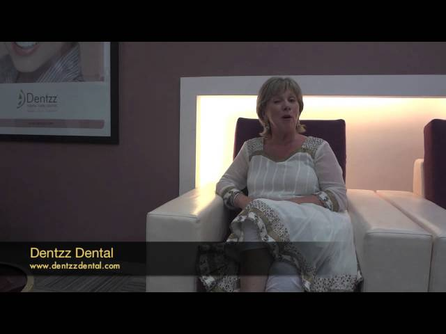 A very happy patient shares her experience at Dentzz