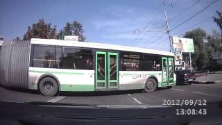 миллиметровщик на автобусе-гармошке