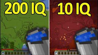 200IQ vs 10IQ Minecraft Plays #11