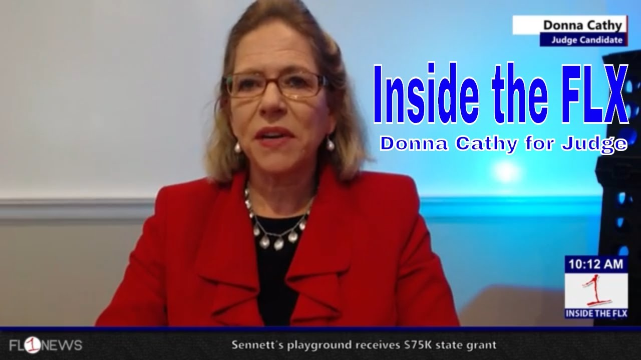 Donna Cathy talks campaign for Seneca Co. Judge .::. Inside the FLX 9/11/18