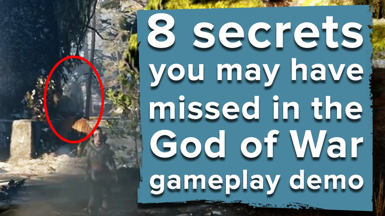 8 Secrets You May Have Missed In The God Of War Ps4