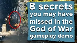 8 secrets you may have missed in the God of War PS4 gameplay demo - E3 2016