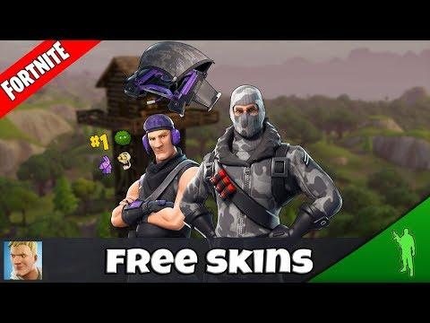 Fortnite Mobile KOSTENLOSE SKINS bekommen / get free skins | Fortnite Mobile (deutsch/german)