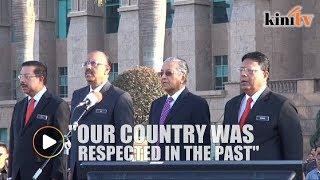 Mahathir: We will return Malaysia to its former glory