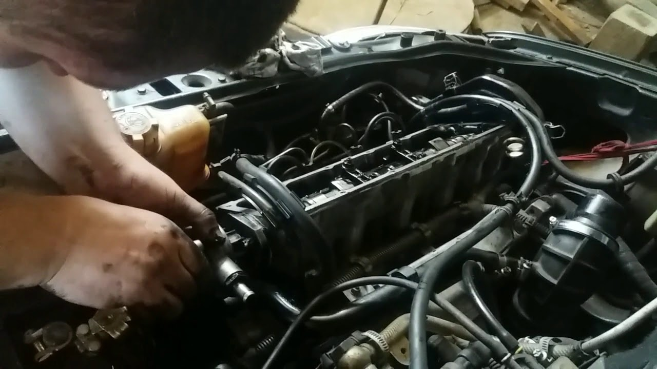 ремонт вакуумного насоса и снятие распредвала Fiat Palio 1.7 TD