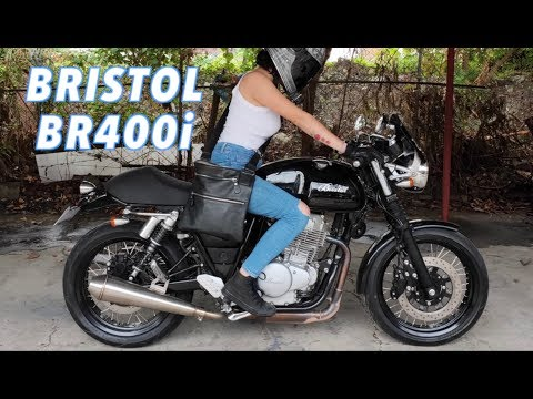 GakiMoto 179 : Bristol BR400i Cafe Racer : Demo Ride : Motovlog Philippines