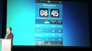 BlackBerry 10 App Demos At BlackBerry World 2012