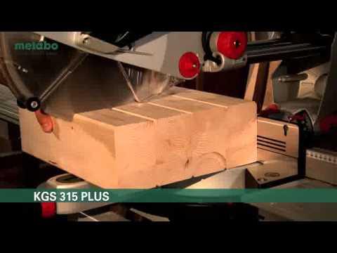 Beroemd Metabo KGS Plus Schnittkapazität (deutsch) - YouTube JL-52