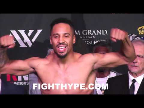 SERGEY KOVALEV VS. ANDRE WARD OFFICIAL WEIGH-IN AND FINAL FACE OFF