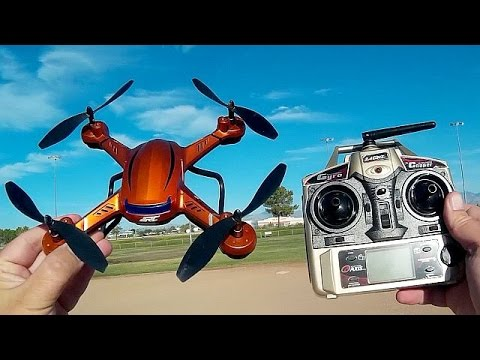 JJRC H12CH Altitude Hold 1080p Camera Drone Flight Test Review