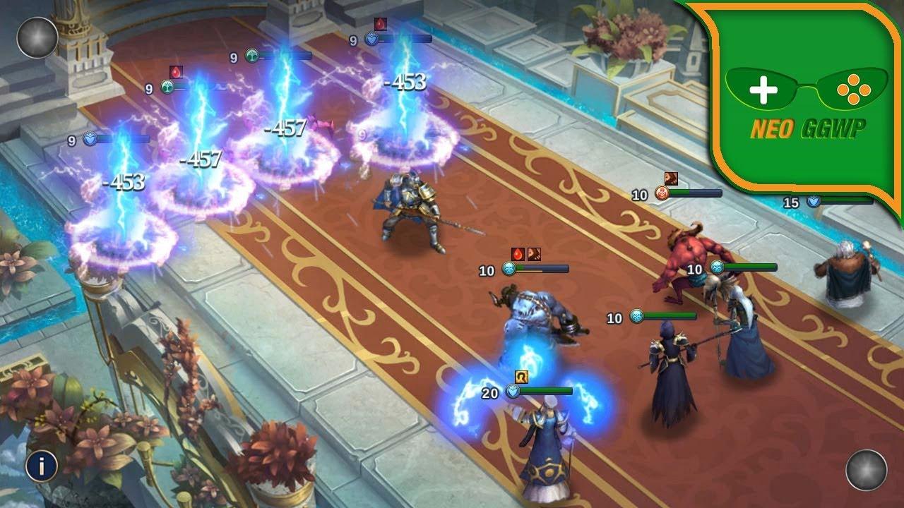 Trials of Heroestipps über mod apk