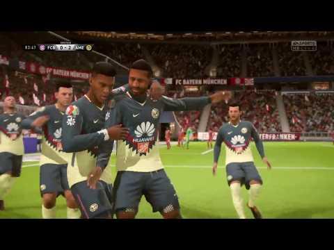 América vs Bayern Munich Fifa 18