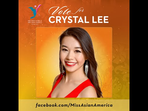 Crystal Lee 2016 Miss Asian Social Media Contest  VOTE NOW!