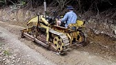 Vintage Bristol Dozer repair part 2- changing fluids/filters and pushing some dirt