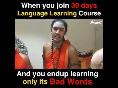 Nithyananda Forgin Fans Club Learning Tamil Bad Words In 30 Days