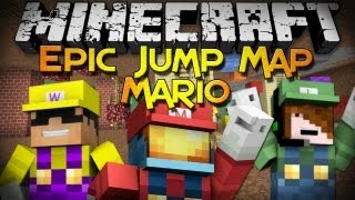 Repeat youtube video Minecraft: Epic Jump Map - Mario Edition (Part 5)