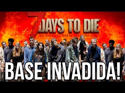 MEU ESFORÇOS FRACASSARAM: MINHA CASA INVADIDA! – 7 DAYS TO DIE HARDCORE