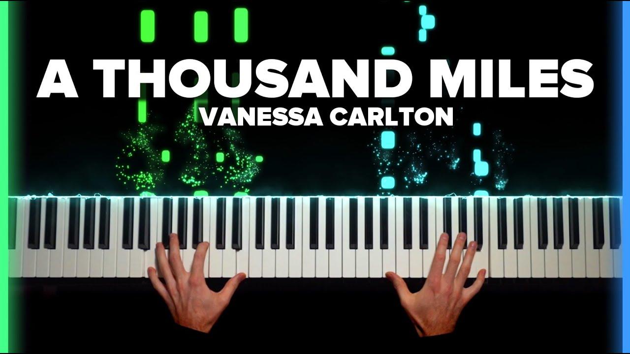 Brennan Wieland A Thousand Miles Sheet Music Piano Solo In B Major Download Print Sku Mn0218637