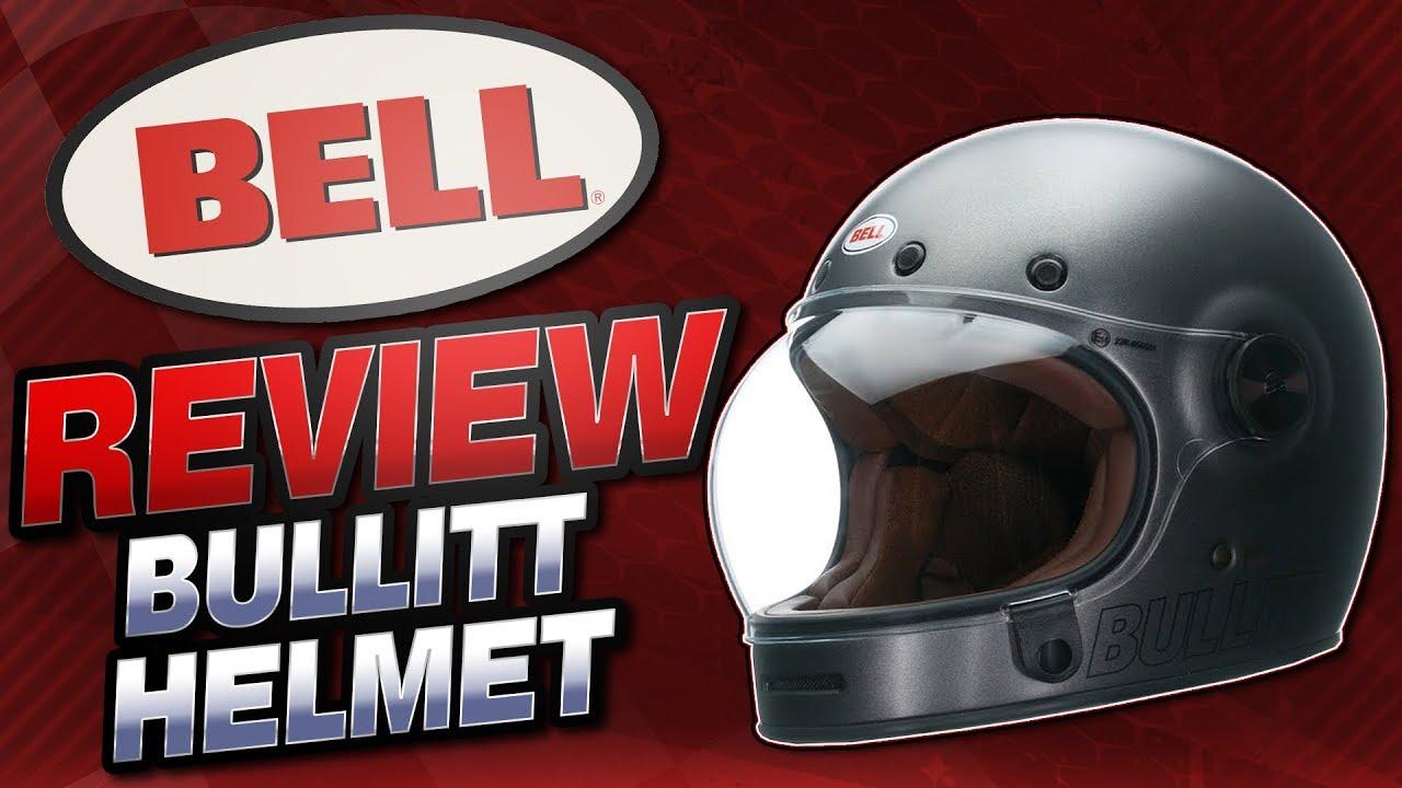 Bell Bullitt Retro Metallic Helmet Review From SportbikeTrackGear