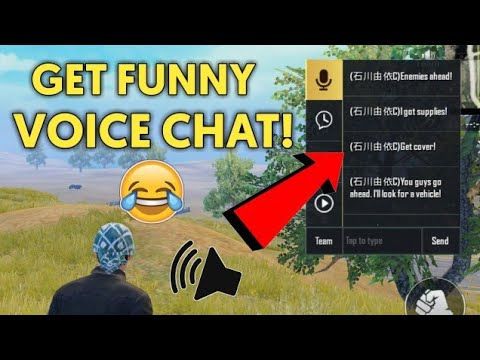 How To Change Voice In Pubg Mobile | Change Voice Chat Language In Pubg