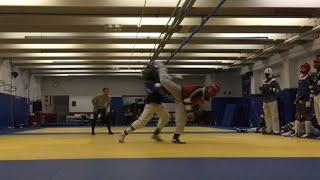USA Taekwondo Team Fight