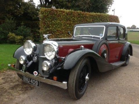 1935 Alvis Speed 20 SC Charlesworth Saloon
