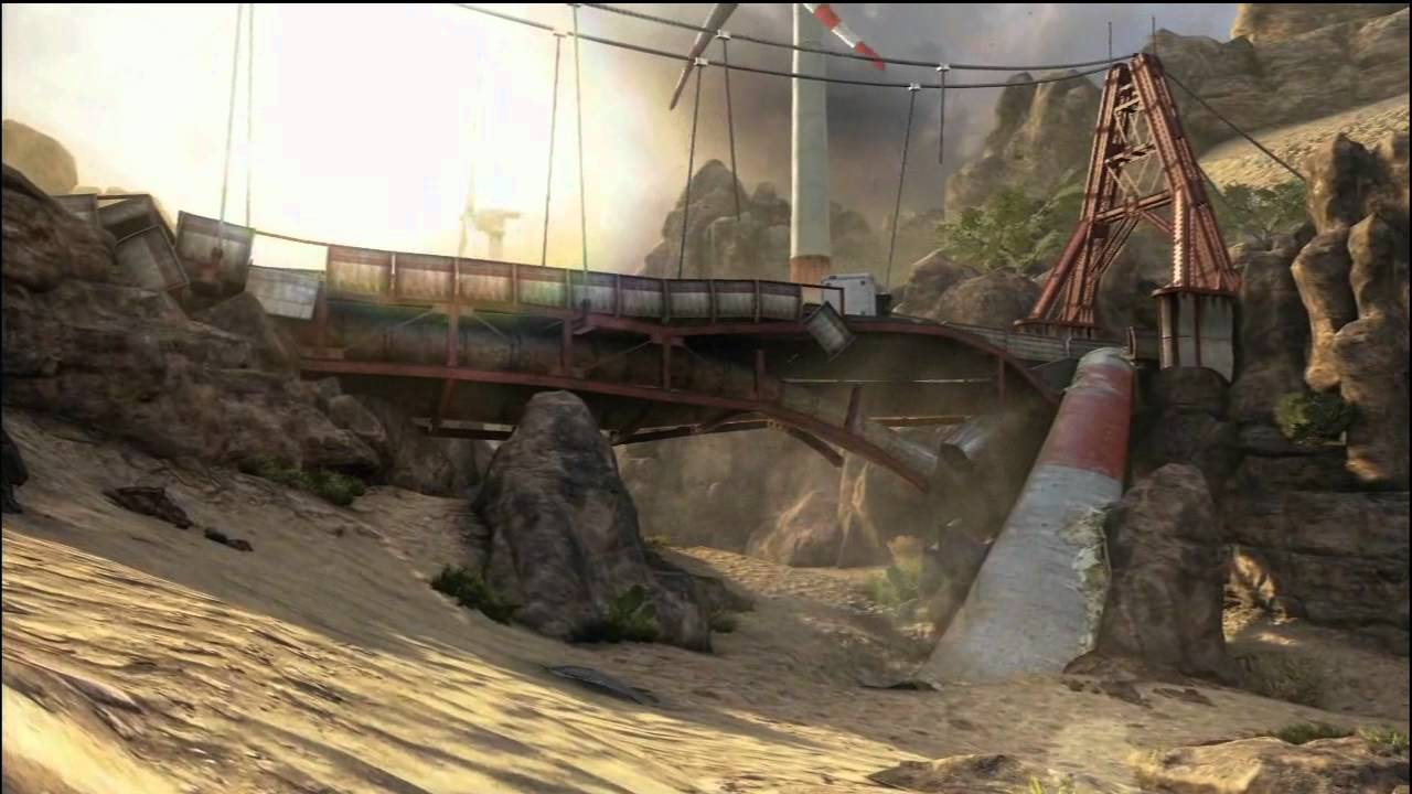 BLACK OPS 2 map flythroughs BO2 maps trailer YouTube
