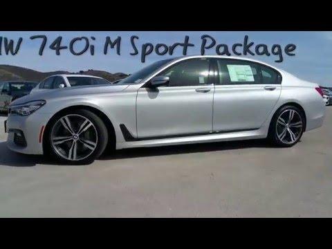 2016 BMW 740i M Vs M5