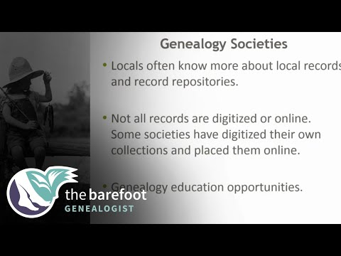 Why Join A Genealogy Society