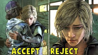 Clementine Refuses vs Accepts to Dance With Violet -All Choices- Walking Dead Final Season Episode 3