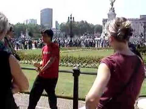buckingham palace tour guide