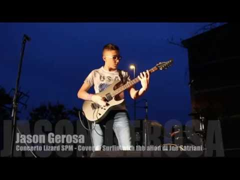 Jason Gerosa - Joe Satriani - Surfing with the Alien