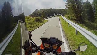 Staller Sattel von Italien nach Österreich 20.08.2015 KTM ADVENTURE