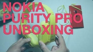 Nokia Purity Pro Unboxing, Wireless Stereo Headset by Monster