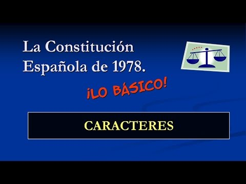 constitución-española---caracteres