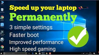 Laptop hang problem solution windows 10 ( Fix Windows 10 slow startup)
