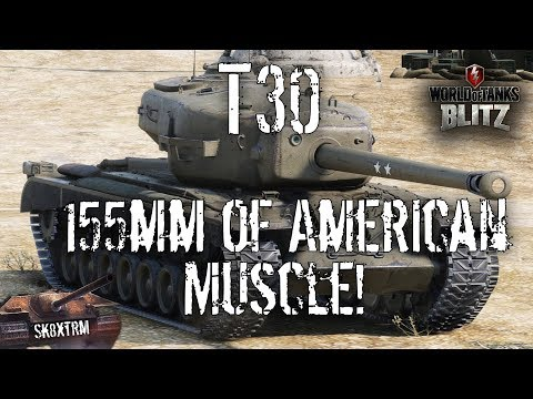 T30 - 155mm of American Muscle - Wot Blitz