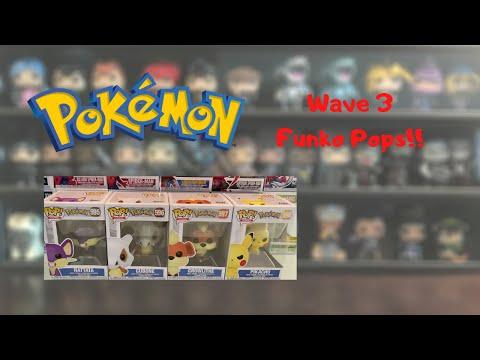 Pokemon Wave 3 Funko Pop Review!!