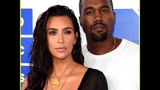 Kim Kardashian Has Been Kanye West's Rock Is Sleeping By His Side at the Hospital